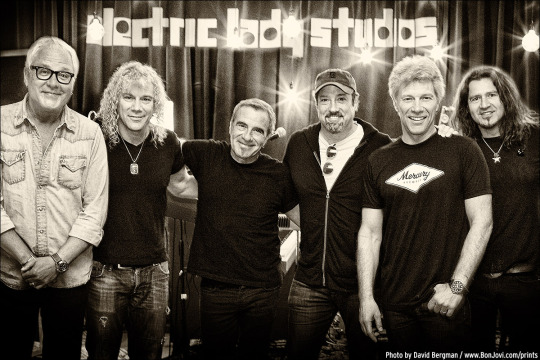Photo (c) 2016 David Bergman / www.DavidBergman.net -- Bon Jovi rehearsal at Electric Lady Studios in New York, NY on May 18, 2016.
