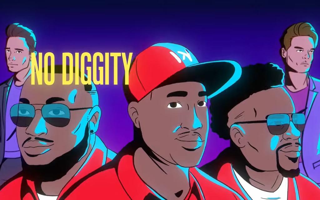 """Класиката """"No Diggity"""" се завръща във версия на Lucas & Steve"""