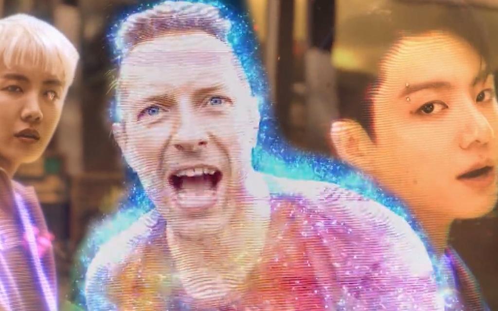 Coldplay и BTS